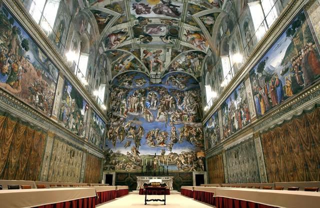 Cappella Sistina di Michelangelo