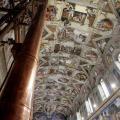 Affreschi di Michelangelo sulla Volta della Cappella Sistina