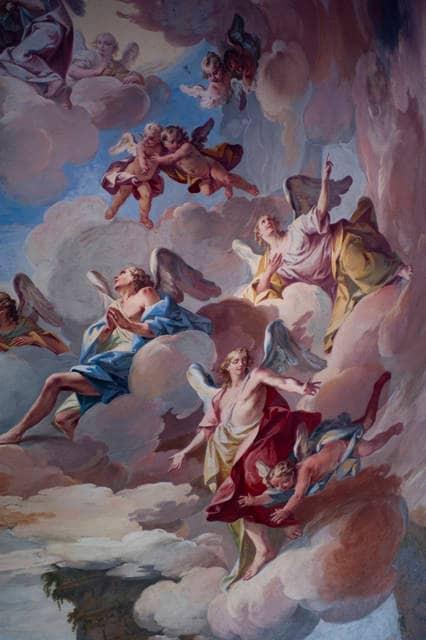 Affresco rinascimentale del Vaticano