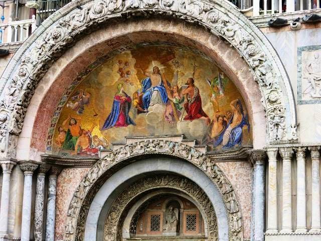 Rinascimento veneziano: Mosaico di Gesù Cristo