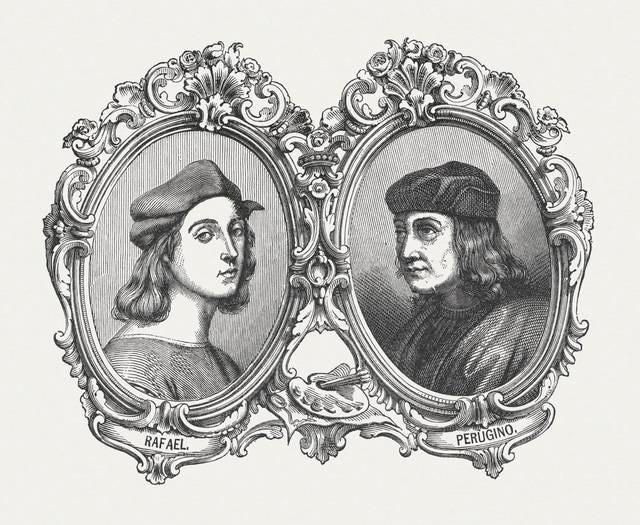 Raffaello e Perugino: pittori italiani rinascimentali