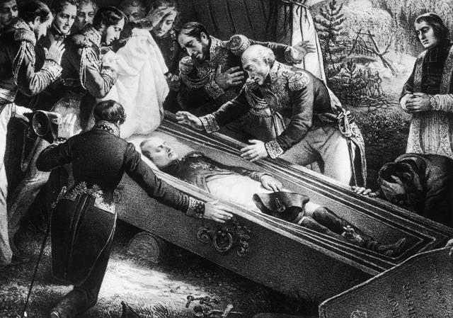 Il funerale di Napoleone