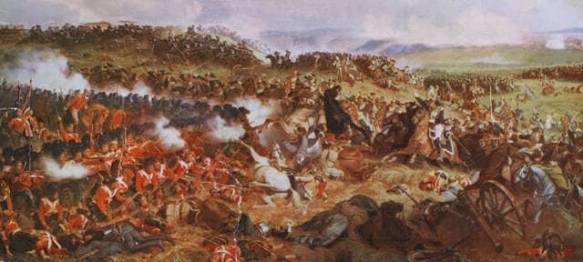 Le immagini della battaglia di Waterloo