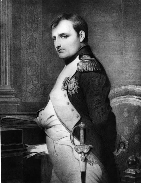 Napoleone in uniforme militare