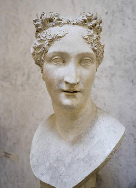 Paolina Borghese Bonaparte scolpita da Canova