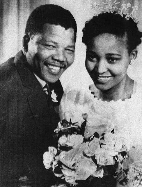 Il secondo matrimonio di Mandela con Winnie