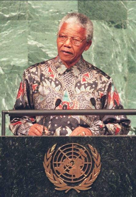 Mandela alle Nazioni Unite