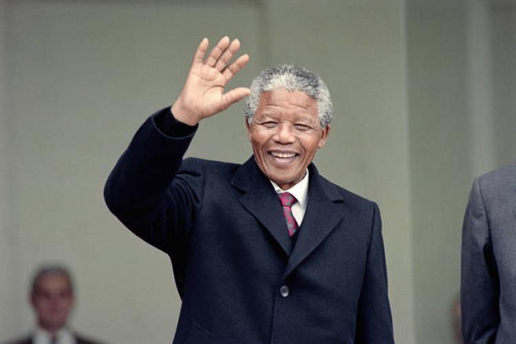 Nelson Mandela a Parigi