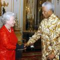 Nelson Mandela e la Regina Elisabetta