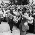 Sostenitori ANC anti-apartheid