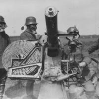 Artiglieria tedesca con cannone antiaereo