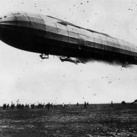 Guerra aerea: dirigibile della marina tedesca