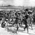 Mitraglieri australiani contro la Francia