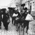 Arrivo dei profughi belgi in Olanda