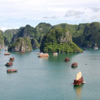 Baia di Ha Long in Vietnam