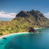 Isola di Komodo in Indonesia