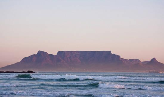 Table Mountain in Sudafrica