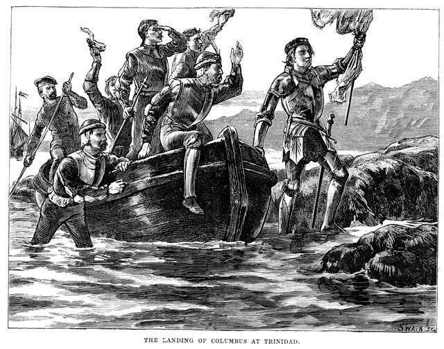 Cristoforo Colombo a Trinidad