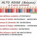 Alto Adige, su 5 giorni settimanali
