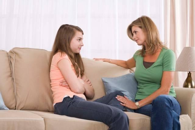 Parla con un adulto