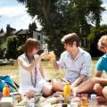 Pranza con i tuoi amici-compagni!
