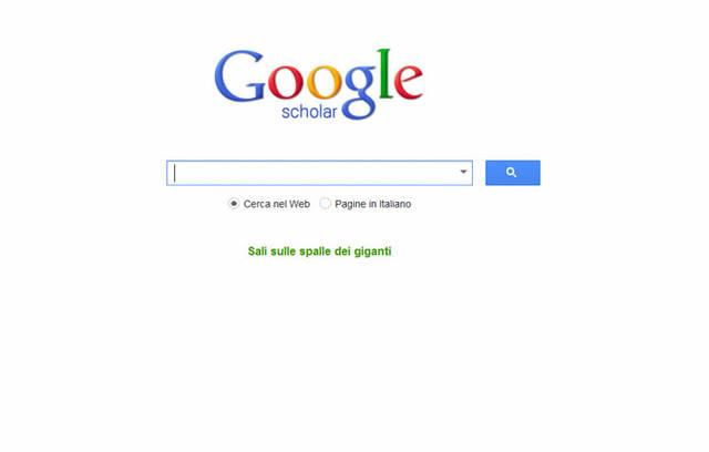 Come funziona Google Scholar