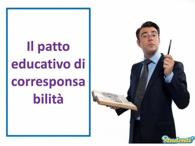 Il patto educativo di corresponsabilità