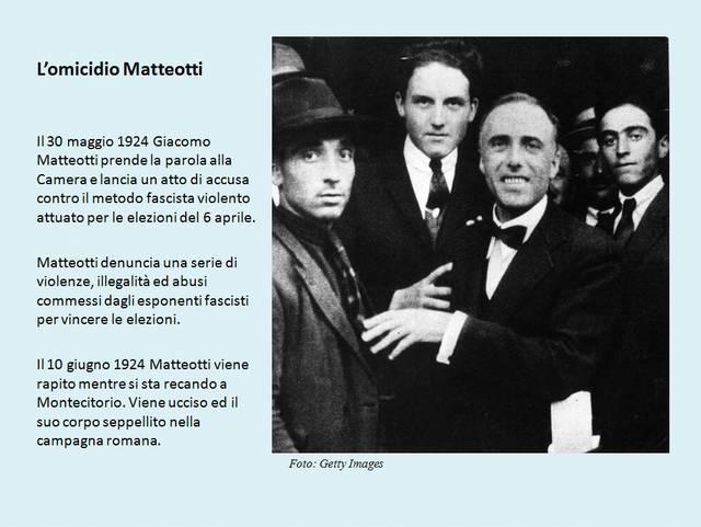 L'omicidio di Matteotti