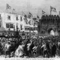 Garibaldi arriva in Inghilterra