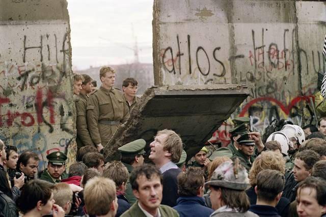 Guerra Fredda: la caduta del muro di Berlino