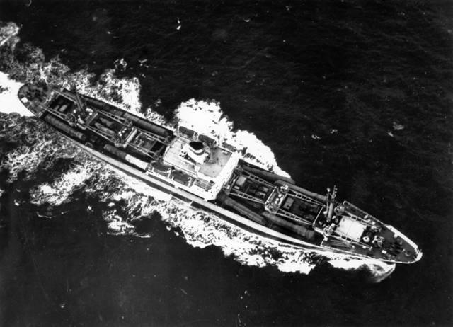 Nave sovietica in ritorno da Cuba