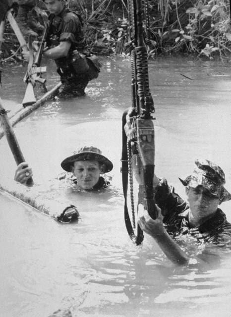 Le operazioni in Vietnam: fine 1960