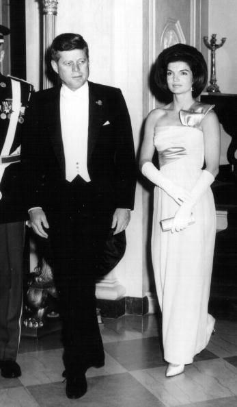 Il Presidente Kennedy e la First Lady Jackie