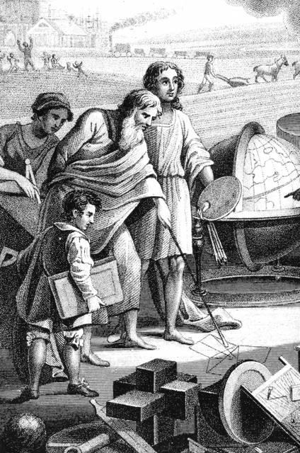 La scuola nell'antica Grecia