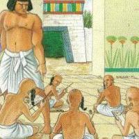 La scuola nell'antico Egitto