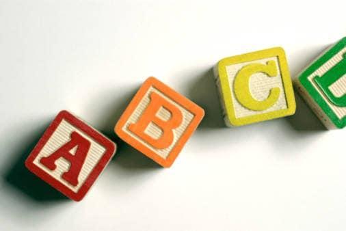 Invenzione dell'alfabeto moderno
