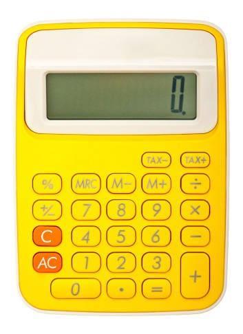 Scrivere utilizzando i numeri della calcolatrice