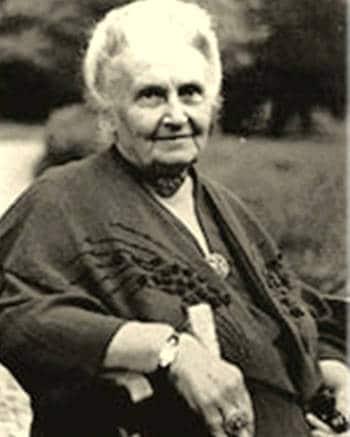 Maria Montessori, madre dalla pedagogia