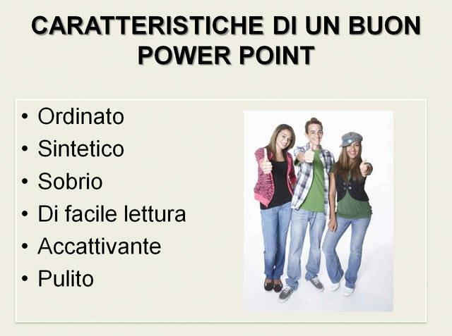Un buon Power Point