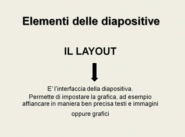 Il layout