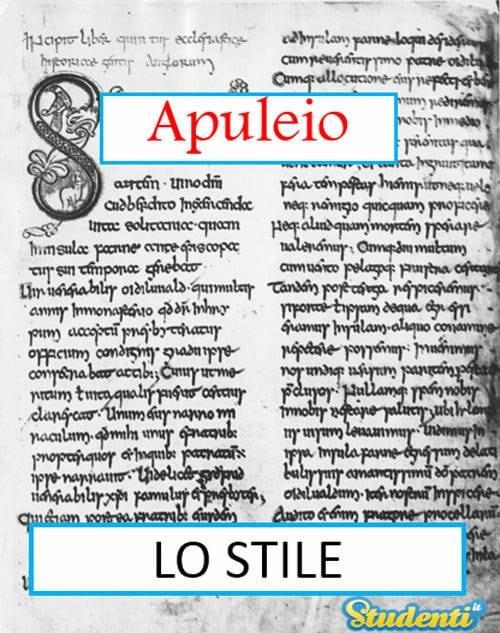 Versione di latino, lo stile di Apuleio