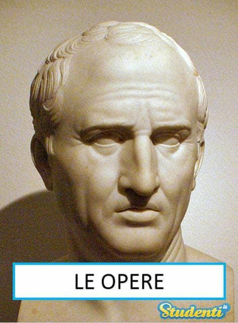 Versione di latino, le opere di Cicerone