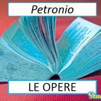 Versione di latino, le opere di Petronio
