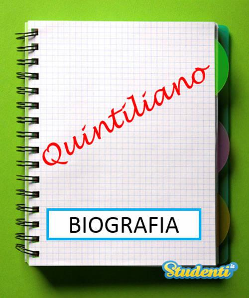 Versione di latino, la biografia di Quintiliano