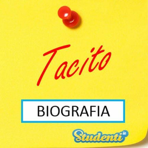 Versione di latino, la biografia di Tacito