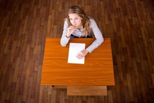 1) Ridimensionate l'importanza dell'esame