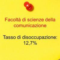 Settimo posto: scienze della comunicazione