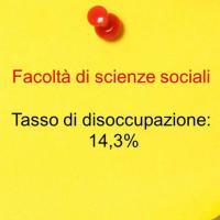 Quarto posto: scienze sociali