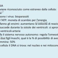 Domande e risposte di biologia: prima parte