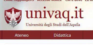 Immatricolazione Università dell'Aquila
